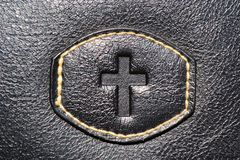 Leather cross Royalty Free Stock Image
