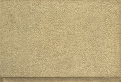Leather, crusty tan. A crusty tan piece of leather Royalty Free Stock Photo