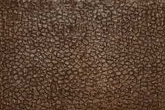 Leather of dark color with a silvery stamping Royalty Free Stock Image