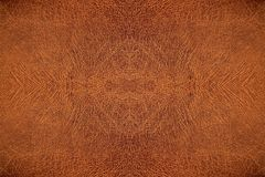 Leather embossed, Brown crack patterned background. Leather embossed, Brown crack patterned background stock photo