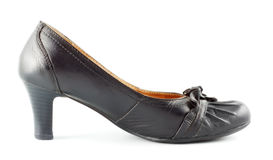 Leather Female Shoes Royalty Free Stock Photos