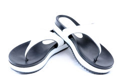 Leather flip flops Royalty Free Stock Photos