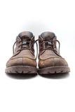 Leather footwear Stock Photo