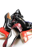 Leather footwear Royalty Free Stock Photography