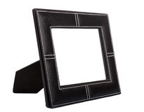 Leather frame Royalty Free Stock Photos