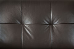 Leather furniture closeup Stock Photos