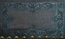 Leather furniture decoration Royalty Free Stock Photos
