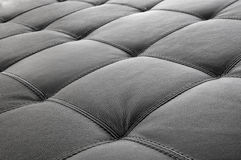 Leather on furniture - sofa. Textures leather on furniture - sofa royalty free stock photos