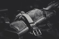 Leather Garrison Belt Grayscale Photo Royalty Free Stock Photo