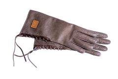 Leather glove Royalty Free Stock Photos