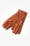 Leather gloves stock images