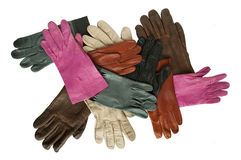 Leather gloves Royalty Free Stock Photo