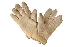 Leather gloves Royalty Free Stock Photography