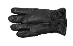 Leather gloves isolated on white Royalty Free Stock Photos