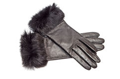 Leather gloves Royalty Free Stock Photos