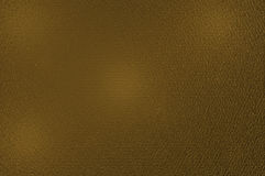 Leather golden texture Stock Photos