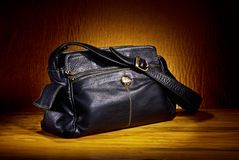 Leather Hand Bag Stock Photos