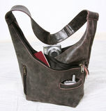 Leather Hand Bag Stock Photography