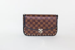 Leather hand bag Royalty Free Stock Image