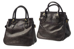 Leather Hand Bags Royalty Free Stock Photography