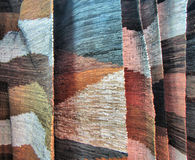 Leather hand-made rugs Royalty Free Stock Photo