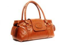 Leather handbag Stock Photos