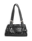 Leather handbag royalty free stock images