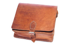 Leather handbag Stock Images