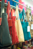 Leather handbags. Stock Photography