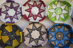 Leather handicrafts Stock Images