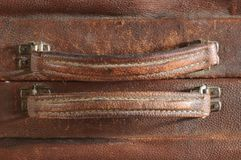 Leather handle. Stock Images