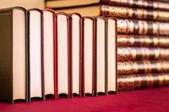 Row of books background. stock image