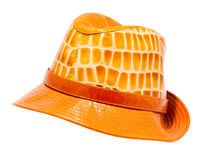 Leather hat Stock Image