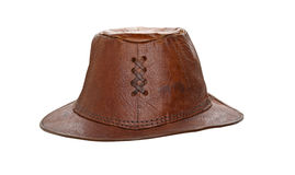 Leather hat Royalty Free Stock Photography