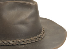 Leather hat Stock Photo