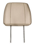 Leather headrest. Stock Photography