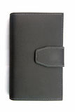 leather holder notebook Royalty Free Stock Photography