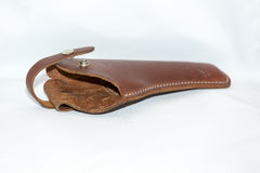 Free Leather Holster For A Pistol Stock Photo - 89444980