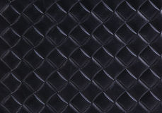 Leather with imprinted geometrical drawing Royalty Free Stock Image