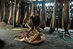 Leather industry of Kolkata Royalty Free Stock Image