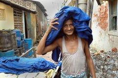 Leather industry of Kolkata Stock Photos