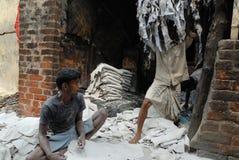 Leather industry of Kolkata Stock Photography