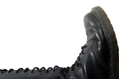 Leather jackboot Stock Photos