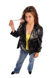 Leather jacket Stock Photos