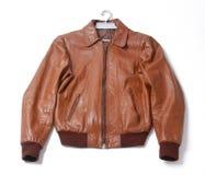 Leather jacket Stock Images