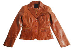Leather jacket Stock Photography