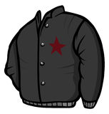 Leather jacket Royalty Free Stock Photography