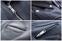 Leather jacket Royalty Free Stock Images