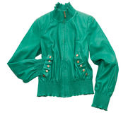 Leather jacket Royalty Free Stock Photos