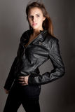 Leather Jacket Royalty Free Stock Photography